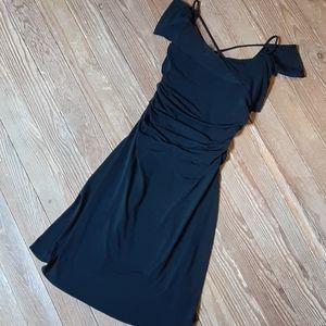 Moda International Strappy Off Shoulder Dress